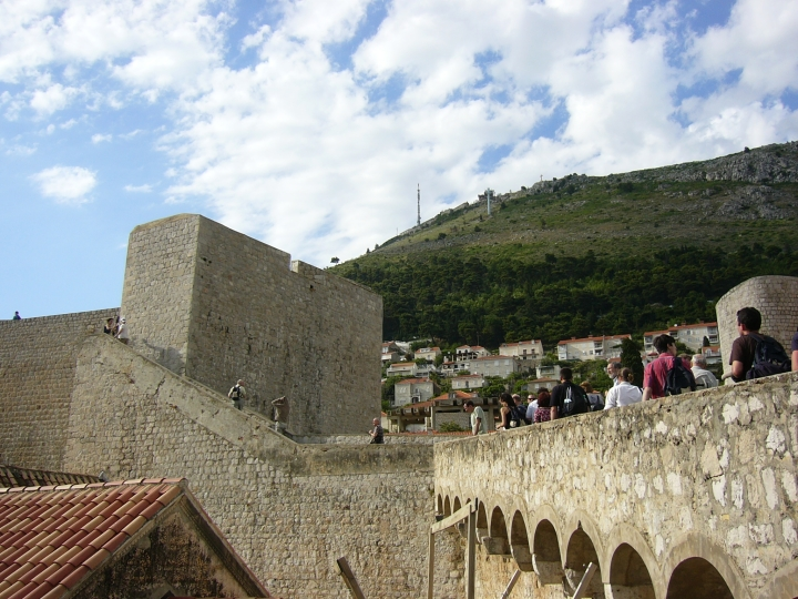 conference excursion (Old town of Dubrovnik)